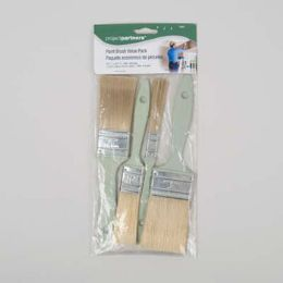 48 Units of Paint Brush 4pc Value Pack Project Partners Pbh - Paint and Supplies