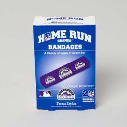 72 Units of Bandages 20ct Box Home Run Brands - - First Aid / Band Aids