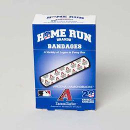 72 Units of Bandages 20ct Box Home Run Brands -arizona Diamondbacks [14019] - First Aid and Bandages