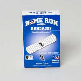 72 Units of Bandages 20ct Box Home Run Brands -chicago White Sox [14029] - First Aid and Bandages