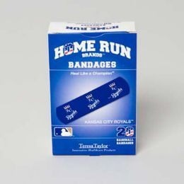 72 Units of Bandages 20ct Box Home Run Brands -kc Royals [14021] - First Aid and Bandages