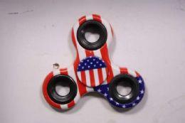120 Units of Fidget Spinner American Flag Design - Fidget Spinners