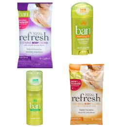 30 Units of Ban Assorted Lot - Bath And Body