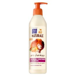 25 Units of Dark And Lovely Au Naturale Anti Shrinkage Cleansing Conditioner A La Creme, 13 oz - Hair Products