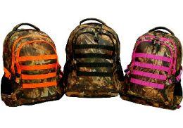 12 Units of Hunting BackpacK-Pink Trim - Backpacks