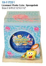 16 Units of Licensed Photo Cube - Spongebob - Picture Frames