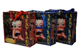 120 Units of Betty Boop Tote(XL) - Tote Bags & Slings