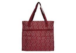 48 Units of Tapestry Hand Bag - Tote Bags & Slings