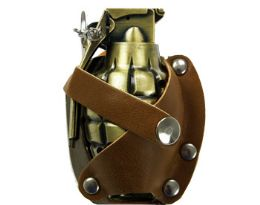12 Units of Grenade Lighter Belt Buckle - Belt Buckles
