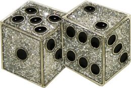 24 Units of Dice Belt Buckle - Belt Buckles