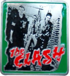36 Units of The Clash Belt Buckle - Belt Buckles