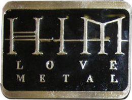 24 Units of Him Love Metal Belt Buckle - Belt Buckles