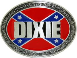24 Units of Dixie Belt Buckle - Belt Buckles