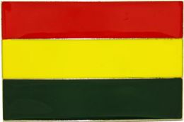 48 Units of Rasta Flag Belt Buckle - Belt Buckles