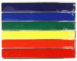 24 Units of Rainbow Flag Belt Buckle - Belt Buckles