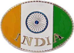 48 Units of Indian Flag Belt Buckle - Belt Buckles