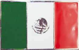 24 Units of Mexican Flag Belt Buckle - Belt Buckles