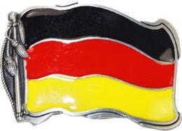 36 Units of German Flag Belt Buckle - Belt Buckles