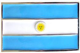 24 Units of Argentina Flag Belt Buckle - Belt Buckles
