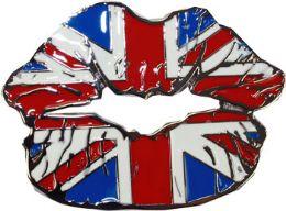 24 Units of British Lips Belt Buckle - Belt Buckles