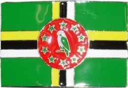 24 Units of Dominican Flag Belt Buckle - Belt Buckles