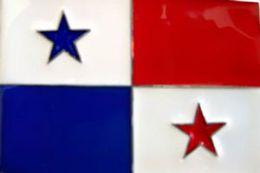 48 Units of Panama Flag Belt Buckle - Belt Buckles