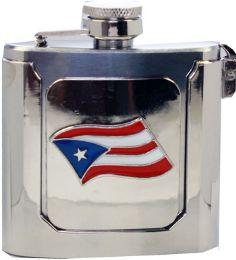 12 Units of Puerto Rican Flask Belt Buckle - Belt Buckles