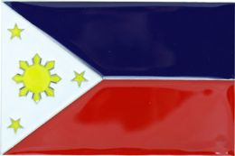 48 Units of Philippinnes Flag Belt Buckle - Belt Buckles