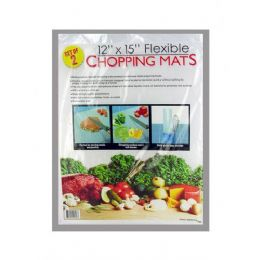 72 Units of Plastic chopping mat set - Cutting Boards