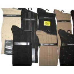 120 Units of Men's Dress Socks - Mens Dress Sock