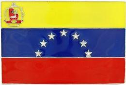 48 Units of Venezuela Flag Belt - Belt Buckles