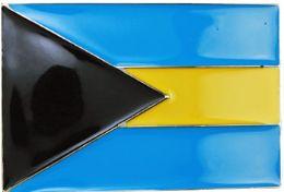 48 Units of Bahama Flag Belt Buckle - Belt Buckles