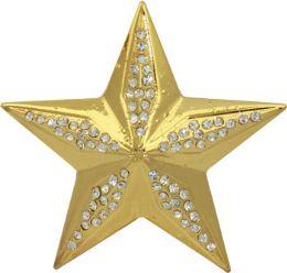 24 Units of Girly Star Belt Buckle - Belt Buckles