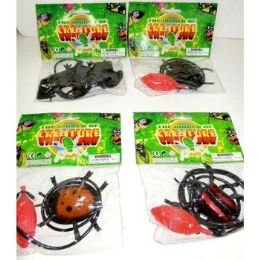 72 Units of JUMPING NOVELTY CREATURE TOYS - Animals & Reptiles