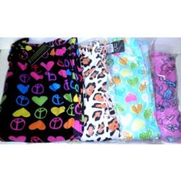 36 Units of WOMEN'S PRINTED FLEECE SLEEP PANTS - Womens Pants