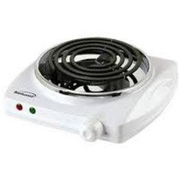 8 Units of Brentwood Electric Burner - White 1200 Watt - Electrical