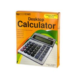 18 Units of Large Display Desktop Calculator - Calculators
