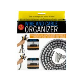 24 Units of Wire and Cable Organizer - Organizer