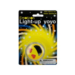 60 Units of Emoticon Light-Up Yo-Yo - Novelty Toys