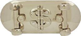 24 Units of Skateboard Dollar Sign Belt Buckle - Belt Buckles