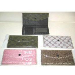 72 Units of LADIES CHECK BOOK WALLET - Wallets & Handbags
