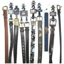 72 Units of Children's Branded Belts - Kid Belts