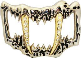 24 Units of Canines Belt Buckle - Belt Buckles