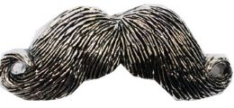 24 Units of Mustache Belt Buckle - Belt Buckles