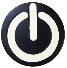 24 Units of Power On Belt Buckle - Belt Buckles