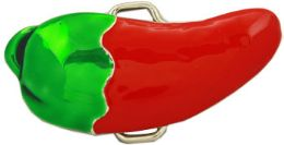 24 Units of Chili Pepper Belt Buckle - Belt Buckles