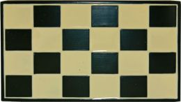 24 Units of Checkered Belt Buckle - Belt Buckles