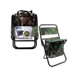 6 Units of Foldable Chair With Compartments - Camping Gear