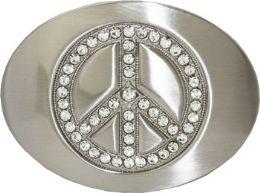 24 Units of Peace Belt Buckle - Belt Buckles