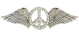 24 Units of Winged Peace Belt Buckle - Belt Buckles